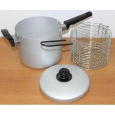 MASPION Multi Fryer Deep Alat Penggorengan Panci Aluminium 18 SH