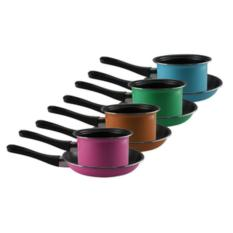 Toko Maspion Pastela Set Panci Susu 14Cm Frypan 20Cm Multi Colour Terlengkap Di Indonesia