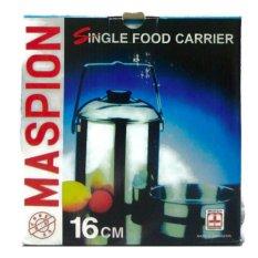 Toko Maspion Single Food Carrier 16 Cm Rantang Tunggal Stainless Steel Terdekat