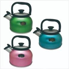 Promo Toko Maspion Teko Bunyi Whistling Kettle Rigoletto 2 5L Random Colour