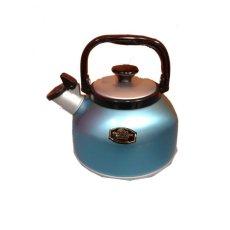 Maspion Teko Pemasak Air whistling Kettle 2,5 Liter - Blue