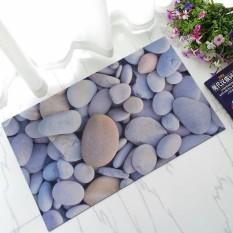 Mats Grosir Besar Jiaoya Tikar Karet 3 Mm Ultra Tipis Tidak Carmen Kekosongan Pengisap Non-slip Bathroom alas # Batu Bata-Internasional