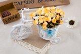 Mawar Dekorasi Vas Bunga Rotan Buatan Rumah Kuning Di Indonesia