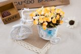 Tips Beli Mawar Dekorasi Vas Bunga Rotan Buatan Rumah Kuning