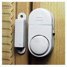 Mawar88shop Alarm Pintu Anti Maling - Putih