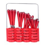 Situs Review Maxi Sendok Cutlery Set 24Pcs Red