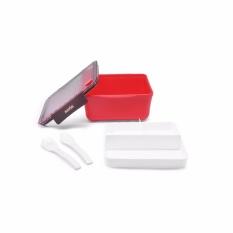 Tips Beli Maxim Bento Square Box Kotak Tepak Makan Anak 1 75L