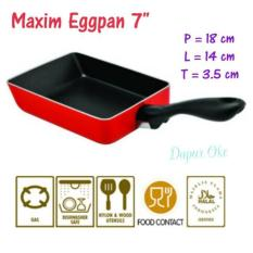 Spesifikasi Maxim Eggpan 7 Teflon Persegi Wajan Teflon Telur Persegi Bagus