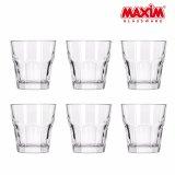 Harga Maxim Glassware Octo Gelas Minum Set 270 Ml 6 Buah Merk Maxim