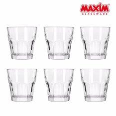 Top 10 Maxim Glassware Octo Gelas Minum Set 270 Ml 6 Buah Online