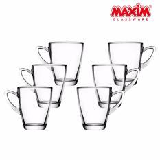 Maxim Glassware Radiant Mug Gelas Minum Set 315 ml - 6 buah