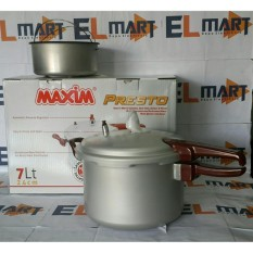 maxim panci presto 7 liter pressure cooker - Seller Center