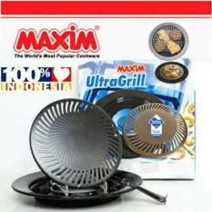 Maxim Ultra Grill Teflon 25 cm - Hitam