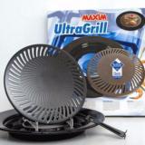 Jual Beli Maxim Ultra Grill Teflon Panggangan Bbq Wajan Pemanggang 25Cm Hitam Dki Jakarta