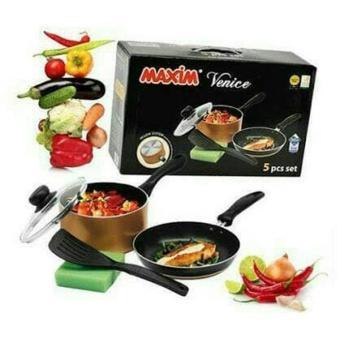 Maxim Venice Set 5pcs Paket Dapur Peralatan Masak Keperluan Rumah