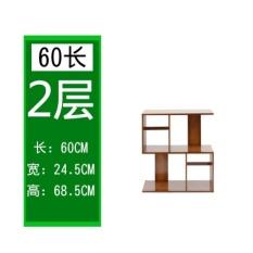 May_zz Bookcase Off Kreatif Sederhana Rack Living Room Rack Combinationbookcase Sekarang Rak S Berbentuk Generasi Jane Sarung Tangan Bambu Floorrack-Intl