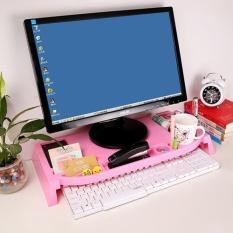 May_zz Diy Display Meningkat Support Shelf Bracket Poin Grid Desktopoffice Keyboard Rak Di Atas Meja Rak Gudang Penyimpanan -Intl