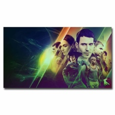 May_zz Sense8 Penuh Cast 12X21 Inch Acara TV Silk Poster Art Print Door Walldecals Kamar Dekorasi Hadiah Keren -Intl