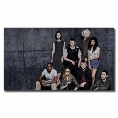 May_zz Sense8 Full Cast 12X21inch Tv Show Silk Poster Door Wall Decalsroom Decoration Art Print Cool Gifts - intl