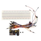 Harga Mb 102 Soket Catu Daya 830 Lubang Mb102 Breadboard 65 Pcs Langsung Kabel Set Intl Not Specified