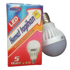 Jual Mbs Lampu Led 5 Watt Paket 5 Unit Lampu Online Indonesia