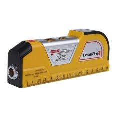 Pita Pengukur LV02 Laser Tingkat Horizontal Garis Vertikal Mengukur Tester Penggaris-Internasional