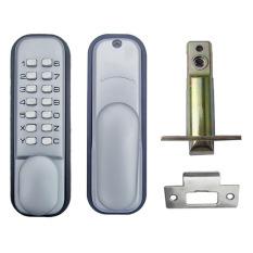 Obral Mechanical Lockey Digital Deadbolt Lock With Handle Murah