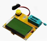Mega328 M328 Lcr T4 Esr Meter Lcr Menyebabkan Transistor Tester Dioda Triode Kapasitansi Mos Pnp Npn Intl Original