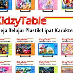 Spesifikasi Meja Belajar Lipat Anak Kidzytable Dan Harganya