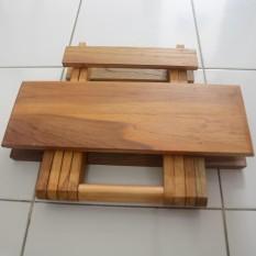 Meja Lipat Kayu Jati / Meja Belajar Lipat / Meja Lipat Portable