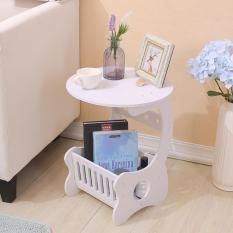 Meja bulat minimalis meja bundar minimalis meja bundar kayu meja kopi  MH515 Small Round Coffe Table