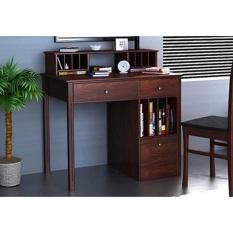 Meja kerja MODERN kayu jati set