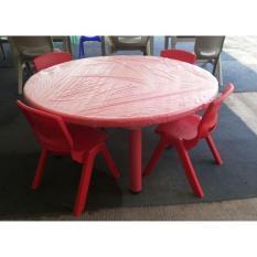 Meja Kursi Sekolah Anak,TK, PAUD (1 meja + 4 kursi) TERLARIS