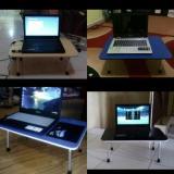 Meja Laptop Meja Belajar Meja Lipat Portable Universal Brand Diskon 40