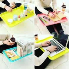 Meja lipat portable Meja laptop plastik Meja portable piknik