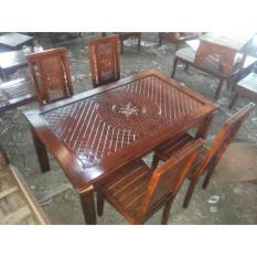 Meja Makan Jati Bagong 4 K