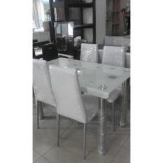 Meja makan set minimalis khusus wilayah bekasi