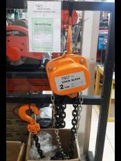 Melzer 2 Ton X 5 Meter Chain Block / Hoist Manual