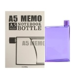 Beli Memo Bottle A5 Memo Flask 420 Ml Ungu Online Terpercaya