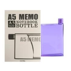 Spesifikasi Memo Bottle A5 Memo Flask 420 Ml Ungu Bagus
