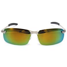 Review Fashion Pria Kacamata Terpolarisasi Mengemudi Anti Silau Olahraga Luar Ruangan Kacamata Uv Kuning Terbaru