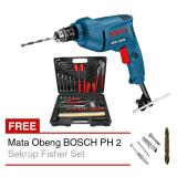 Mesin Bor 10 Mm Bosch Gbm 350 Re Tool Kit Kenmaster Mata Obeng Murah