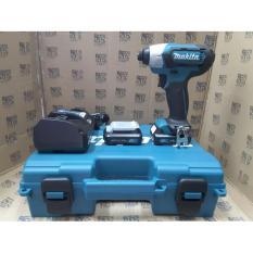 Mesin Bor Obeng Cordless Impact Baterai Makita Td110 Td 110 Terbaru