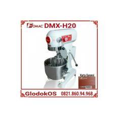 Mesin Mixer Fomac DMX-H20 kapasitas 6 kg / Pengaduk Adonan Roti