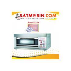 Mesin Oven Roti 1 Deck 2 loyang BOV-ARF20H fomac