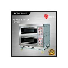 Mesin Oven Roti Gas Deck Oven Fomac BOV-ARF40H 2 Deck 4 Loyang