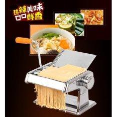 Mesin Pembuat Mie Pasta Spagetti Kulit Pangsit Pastel Makanan Kuliner Dapur Food Noodle Maker Manual Kreasi Stainless Steel Anti Karat Mudah Di Gunakan Praktis Koleksi Rumah Tangga Cepat Mudah Aman Murah Terjangkau Ecer Grosir Partai