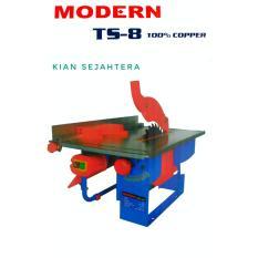 Mesin Potong kayu Modern Table Saw TS-8 Gergaji kayu Pemotong kayu