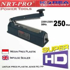 Mesin press plastik 20cm /impluse sealeR NRT-PRO SP200I BODY BESI