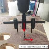 Harga Metal Alloy Steel Lingkaran Kayu Gergaji Pemotong Lubang Bor Kit Adjustable Intl Yang Bagus